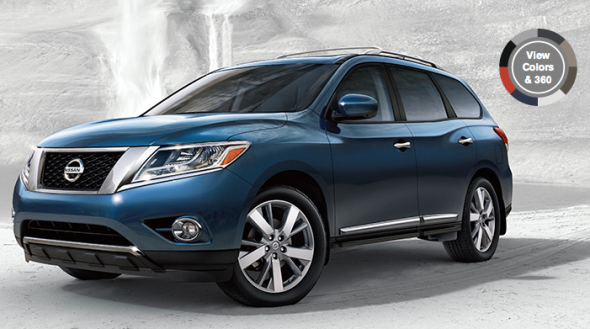 new 2013 nissan pathfinder offers best in class fuel economy roomy premium interior family. Black Bedroom Furniture Sets. Home Design Ideas